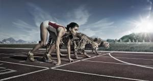 man-cheetah-running